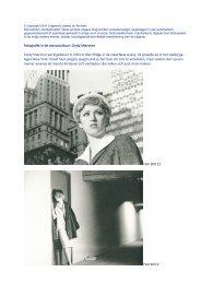 Fotografie in de massacultuur: Cindy Sherman Cindy ... - Lambo