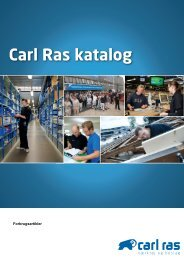 forbrugsartikler - Carl Ras A/S