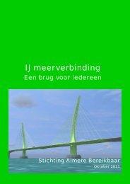 IJmeerverbinding een brug voor iedereen.pdf - Almere Bereikbaar