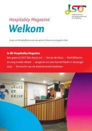 Pdf van het hospitality magazine 'Welkom' - JSO