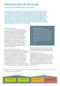 Onderzoeksrapport 'Preventie door de thuiszorg' - Actiz - Page 2