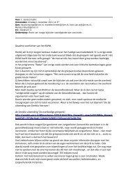 Recht van inzage bijsluiter voorafgaande aan vaccinatie...