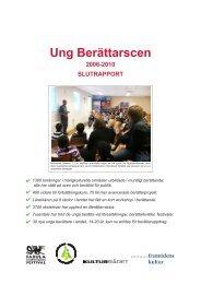 Hämta rapporten om Ung Berättarscen, som PDF - Fabula Storytelling