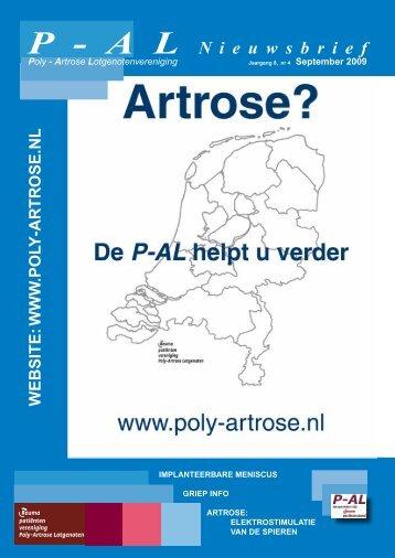 P - A L N i e u w s b r i e f - Poly-Artrose Lotgenoten