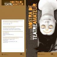 teatre aM ateu r - Ajuntament de Sant Boi de Llobregat