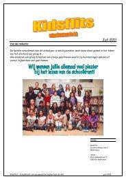 schoolkrant juli 2011 - De Ark