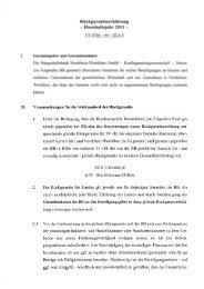 Rückgarantieerklärung 2011 Land - Bürgschaftsbank NRW