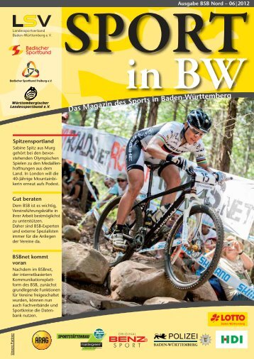 Download Sport in bw Nr. 06/12 - Badischer Sportbund Nord ev