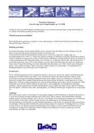 Touristik & Motorsport Generelle salgs- og leveringsbetingelser pr. 1 ...