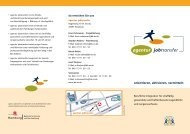 Download Flyer agentur jobtransfer - Beschäftigung + Bildung ev