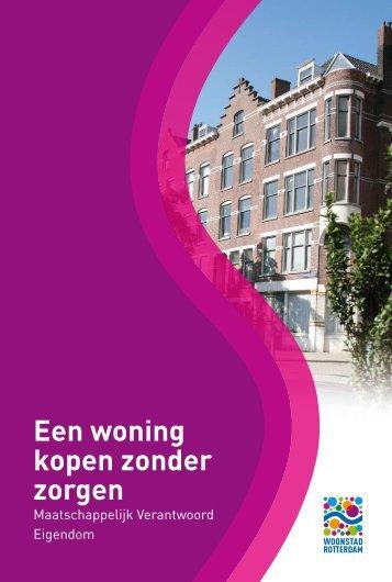 Een MVE woning kopen - Woonstad Rotterdam