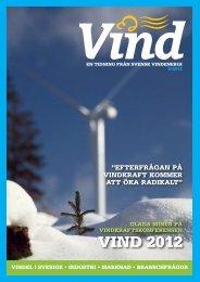 Nummer 8 – 2012 - Svensk Vindenergi