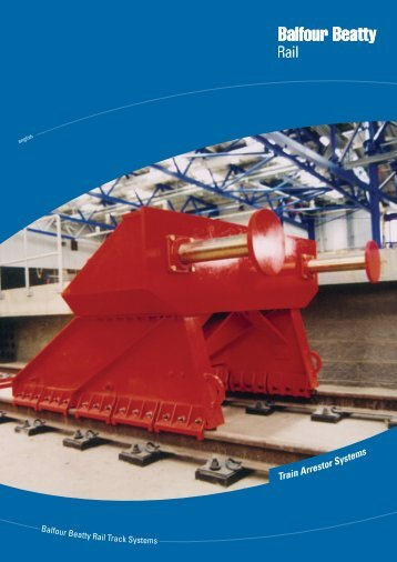 Friction Buffer Stop - Balfour Beatty Rail