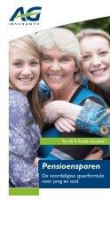 Pensioensparen - AG Insurance