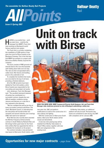 'des res' for orang-utans A 'des res' - Balfour Beatty Rail