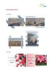 Kerstkaarten 2012 - Woord en Daad