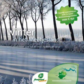 winter - Toerisme Oost-Vlaanderen