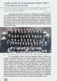 Joodse kinderen ondergedoken in WO II - Leuvens Historisch ...