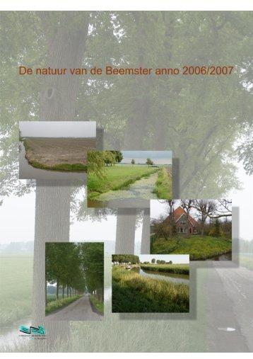 De natuur van de Beemster anno 2006/2007 - Ecologisch ...