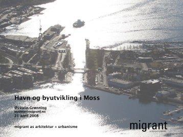 Havn og byutvikling i Moss