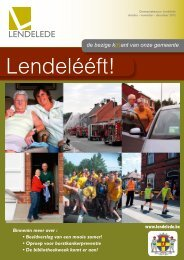 Lendeleeft oktober - november -december 2012 - Gemeente ...