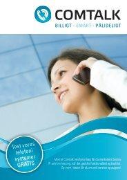 Test vores telefoni systemer GRATIS - Comtalk