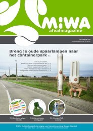 Magazine 04 – december 2010 - MIWA
