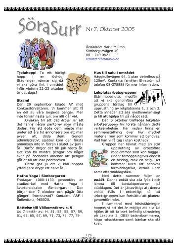 2005-10 SoraSurr Nr 7.pdf - soravastra.se