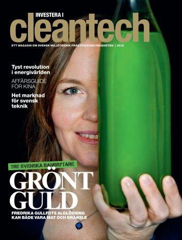 """""""Investera i cleantech - ett magasin om svensk miljöteknik från ..."""