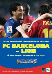 FC bArCelOnA – liOn - DTF travel