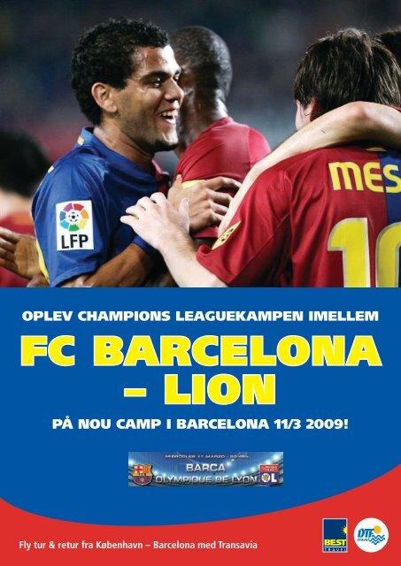 FC bArCelOnA – liOn - DTF travel
