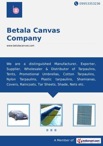 Betala Canvas Company, Chennai - Supplier & Distributor of ...