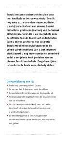 Suzuki mobiliteitSService - Page 2