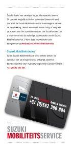Suzuki mobiliteitSService - Page 4