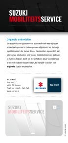 Suzuki mobiliteitSService - Page 6