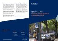 ECORYS Bureau DAM Onderzoek en datamanagement voor ...