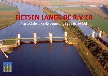 FIETSEN LANGS DE RIVIER