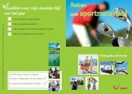 Uw reis met sportmateriaal - Jetair