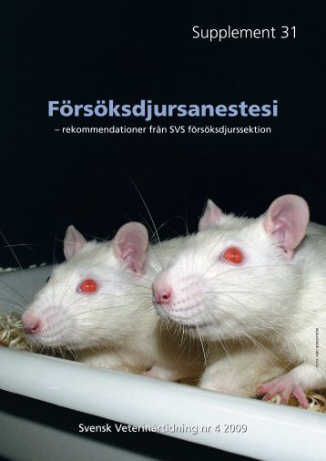 Försöksdjursanestesi - Internwebben - Karolinska Institutet