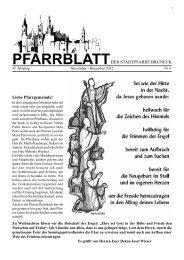 November - Dezember 2012 - Pfarrei Bruneck