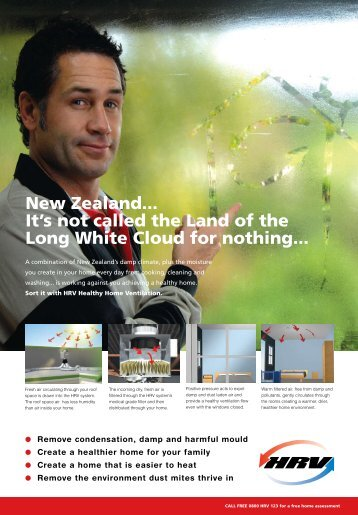 New Zealand... It's not called the Land of the Long White ... - HRV
