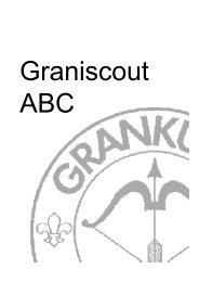 Graniscout ABC - Grankulla Scoutkår