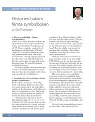 Historien bakom femte symbolboken - Martinus Institut