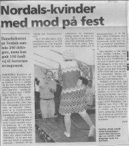 1993 - Nordals kvinder med mod på fest - nb-arkivportal