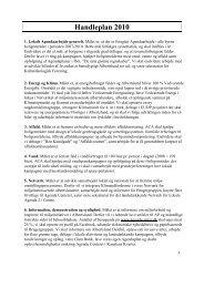 Handleplan 2010 - Agenda Center Albertslund