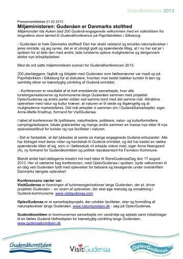 Miljøministeren: Gudenåen er Danmarks stolthed
