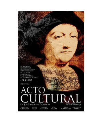 Acto Cultural - Celcit ES