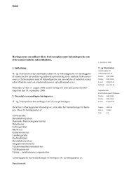 Høringsnotat om den fremtidige frekvensanvendelse i ... - Net