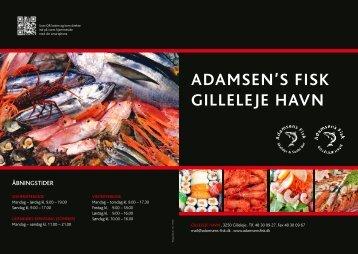 ADAMSEN'S FISK GILLELEJE HAVN - Adamsens Fisk