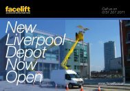 Download a leaflet about Facelift Liverpool